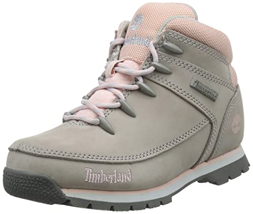 222823e7c4 Timberland Unisex Kids' Euro Sprint High Rise Hiking Boots, (Lite Grey N99)