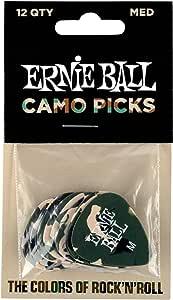 Bolsa Ernie Ball Camuflaje Celulosa Medium de 12