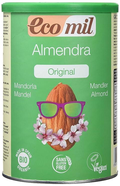 Almond Ecomil Leche Almendra Bio 400 gr - 1 Unidad