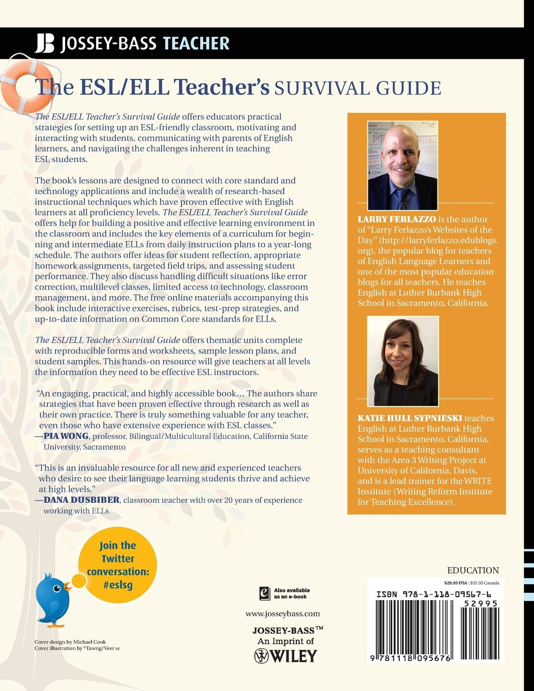 The ESL / ELL Teachers Survival Guide: Ready-to-Use Strategies, Tools, and Activities for Teaching English Language Learners of All Levels J-B Ed: Survival ...