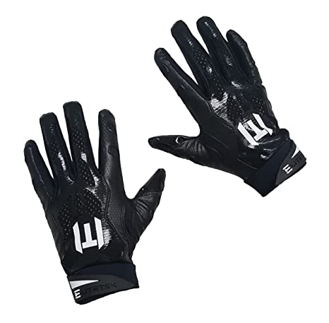 Amazon.com   EliteTek E-17 Football Gloves Youth   Adult   Sports ... 31098916de