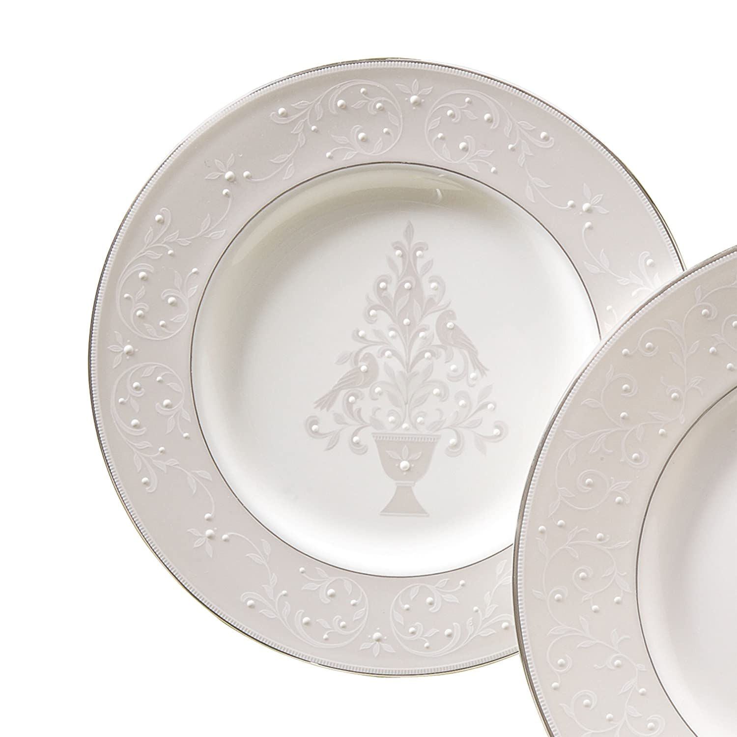 Christmas Tree Accent Plates