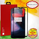 CASE FACTORY 5D Full Edge Tempered Glass Screen Protection for OnePlus 6