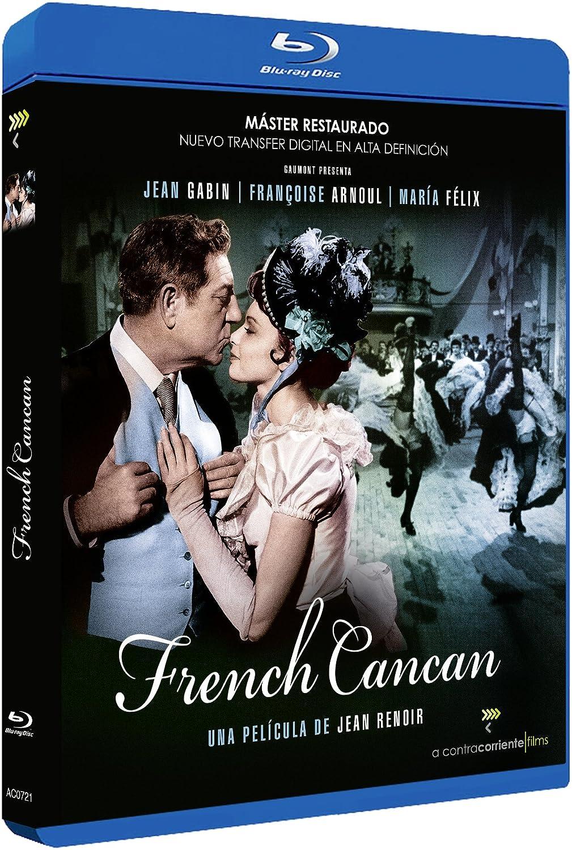 French Cancan Spanish Release Jean Renoir Amazon Co Uk Jean Gabin Francoise Arnoul Maria Felix Dvd Blu Ray