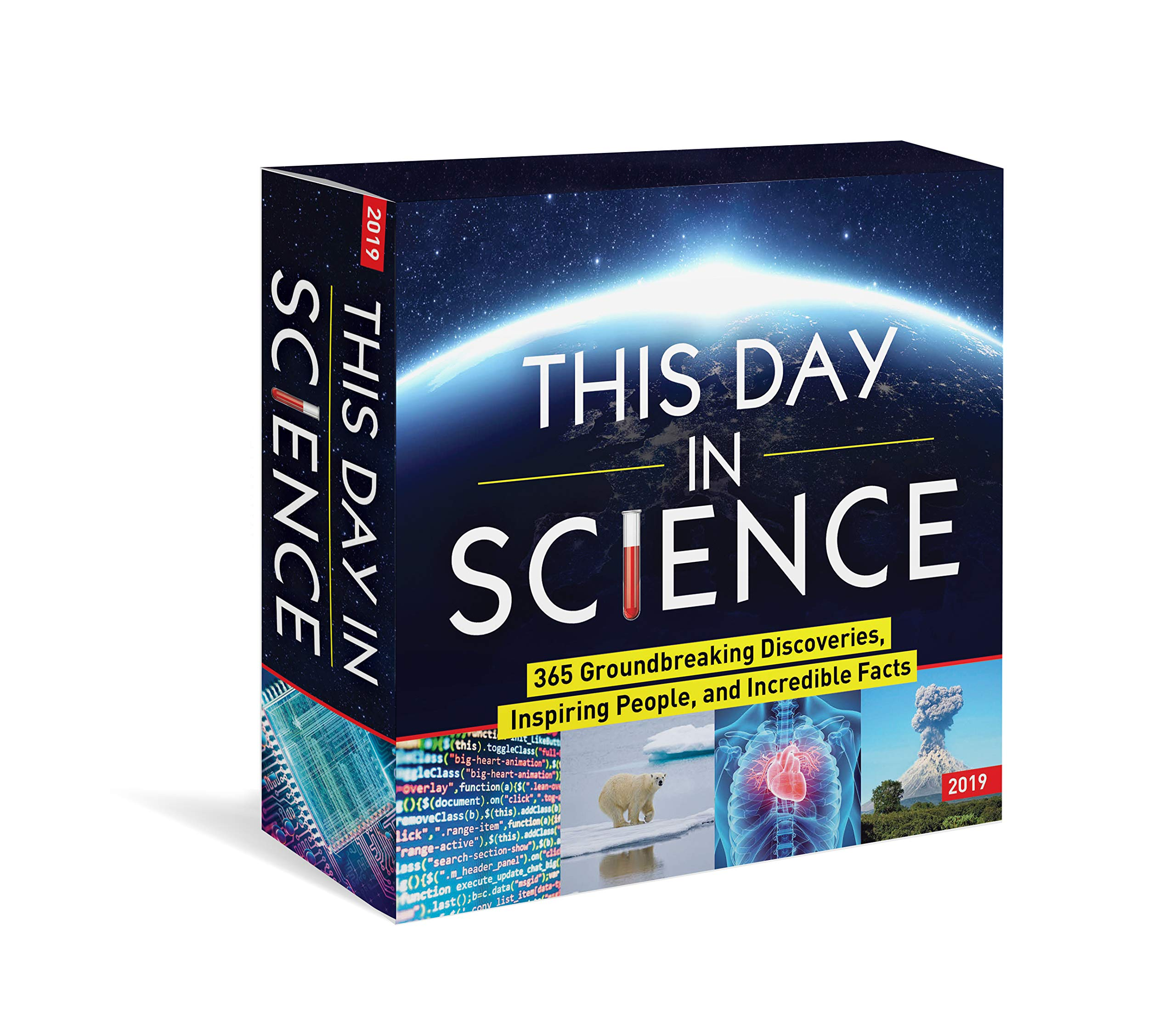 Download 2019 This Day in Science Boxed Calendar: 365 Groundbreaking Discoveries, Inspiring People, and Incredible Facts ebook