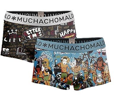 f538d53b81 Muchachomalo 2er Pack Herren Hipster Pants Slips Gr. XXL: Amazon.de:  Bekleidung