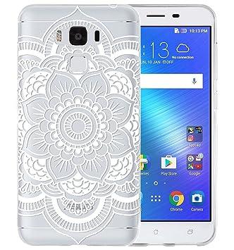 Sunrive Funda para ASUS Zenfone 3 MAX ZC553KL 5,5 Pulgadas, Ultra Fina TPU Slim Fit Funda Gel Transparente Carcasa Case Bumper de Impactos y ...
