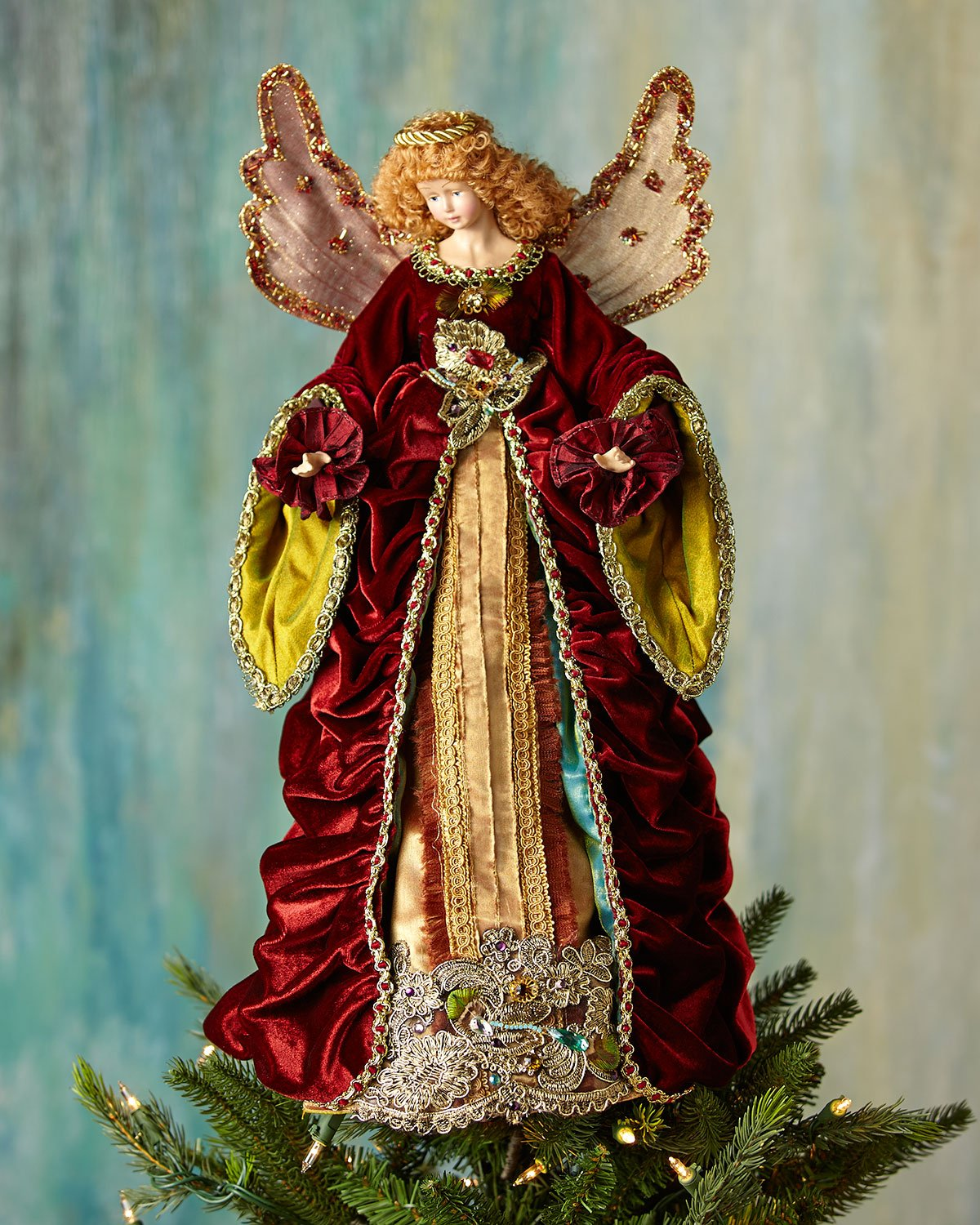 Katherine's Collection 21'' Nativity Angel Tree Topper