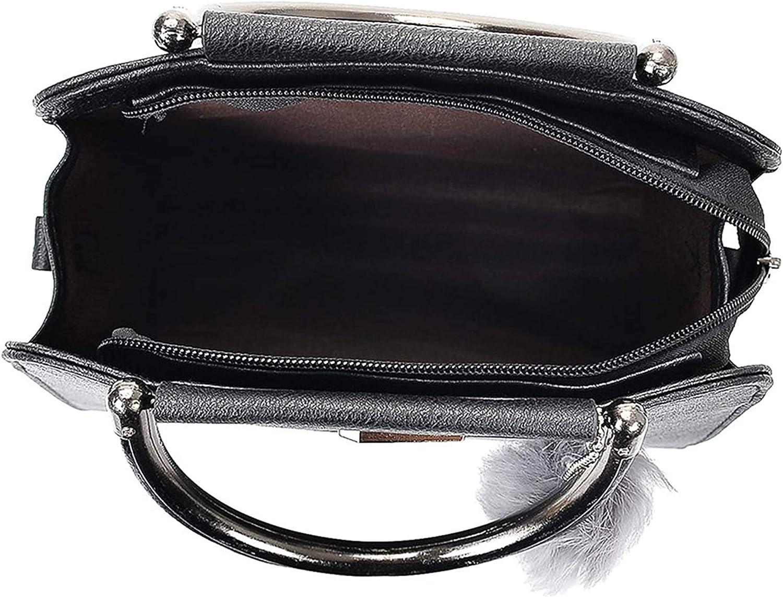 New Women Mini Small Square Pack Shoulder Bag Hairball Crossbody Package Clutch Women Wallet Handbags