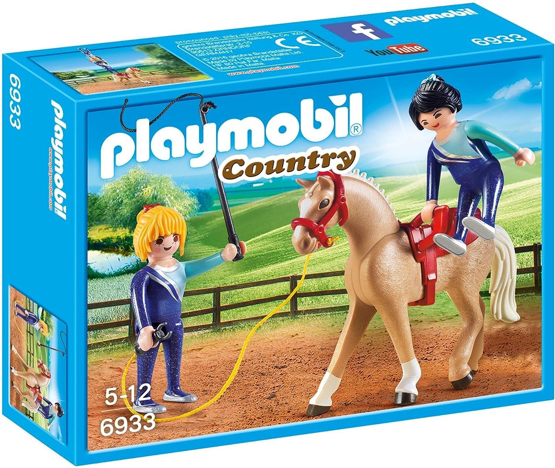 PLAYMOBIL/® Vaulting Horse Building Set Playmobil Cranbury 6933