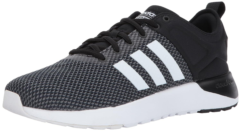 adidas Men's Cf Super Racer Running Shoe B01NADQELC 8.5 D(M) US|Black/White/Grey Five
