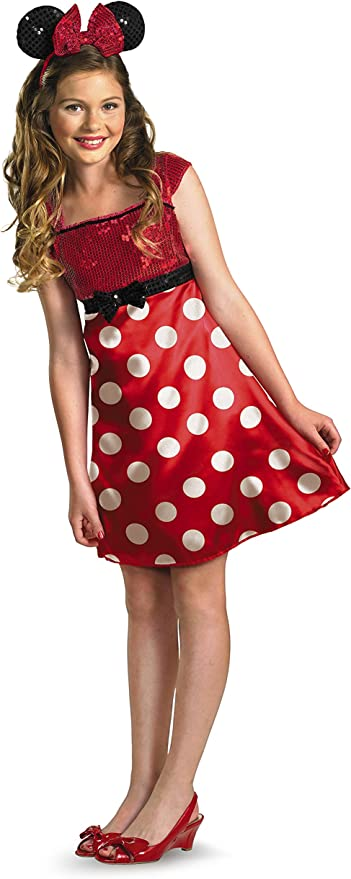 Disfraz Disney Mickey Mouse Clubhouse Red Minnie Mouse para ni-os ...