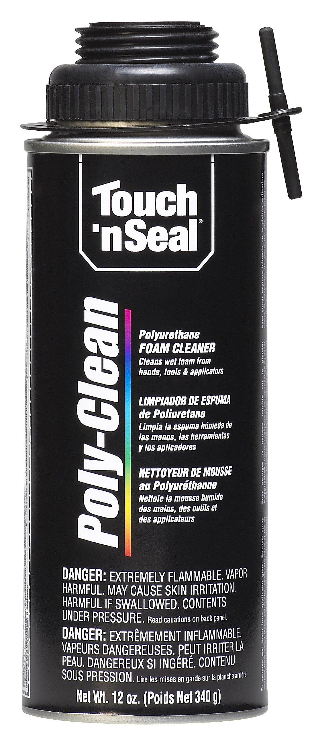 Touch 'n Seal Zero VOC Poly-Clean Polyurethane Foam Cleaner, 12 oz Can