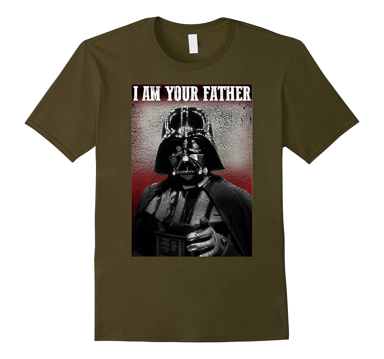 star wars stern vader i am your father finger point t. Black Bedroom Furniture Sets. Home Design Ideas