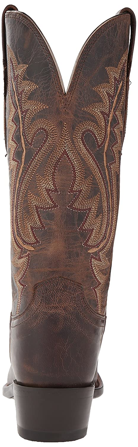 Lucchese Bootmaker Women's Cassidy-Tan Mad Dog Goat Riding Boot B00SBK7N0G 6 B(M) US|Chocolate