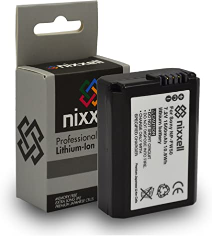 NEX-5R NEX-F3 A5000 Battery And Charger Kit For Sony Alpha A6000 Alpha 7