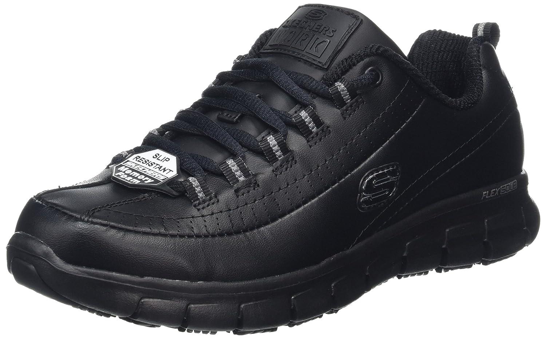Skechers Sure Track-Trickel, Chaussures Track-Trickel, de Sécurité Femme, (Blk) Noir Noir 14531 (Blk) 516487f - boatplans.space
