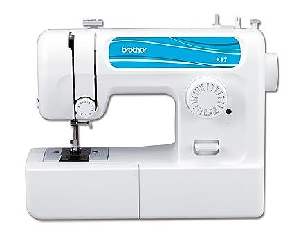Brother X17 Máquina de coser de brazo libre con 17 Nähprogrammen