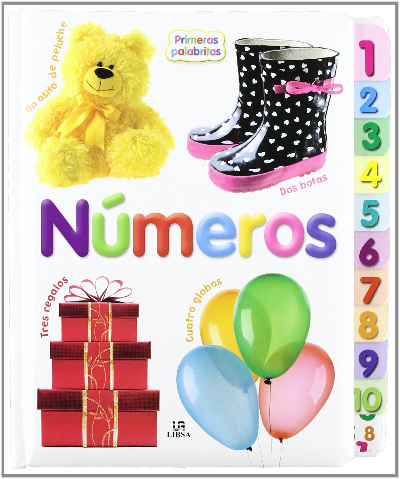 Números / Numbers (Primeras palabritas / First Words) (Spanish Edition) (Spanish) Hardcover – June 30, 2012
