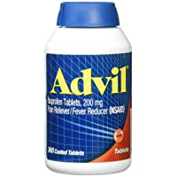 360 Advil Coated Tablets 200 Mg Pain Reliever