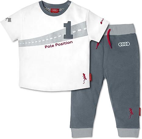 Junge Paw Cars Hose Baumwolle Kurzarm Shirt Spielanzug Mickey Kinder Set Gestreift 2 Teilig