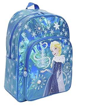 Toy Bags Mochila Infantil Frozen Elsa Brillante/Mochila Disney Brillante Mochila Elsa Frozen, Azul: Amazon.es: Equipaje