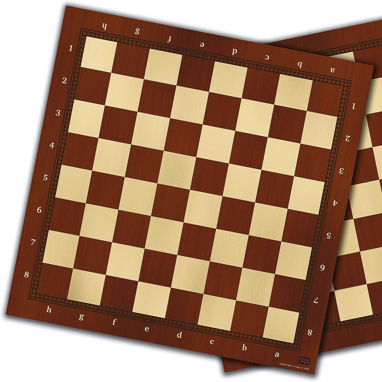 Falomir Tablero de ajedrez y Damas 40cm, Juego de Mesa, Clásicos (27909): Amazon.es: Juguetes y juegos