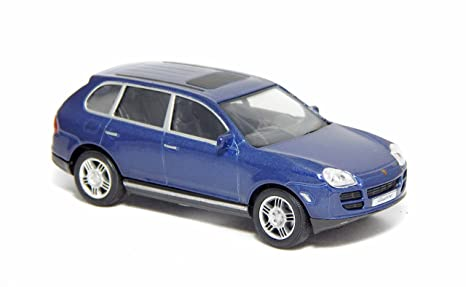 Porsche Cayenne S Turbo Blue 1:43 Cararama 250ND