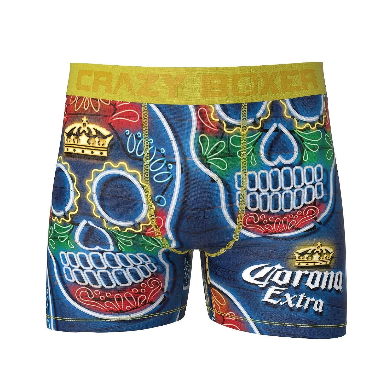 Kalan LP Crazy Boxers Men's Dia de Los Muertos Corona Boxer