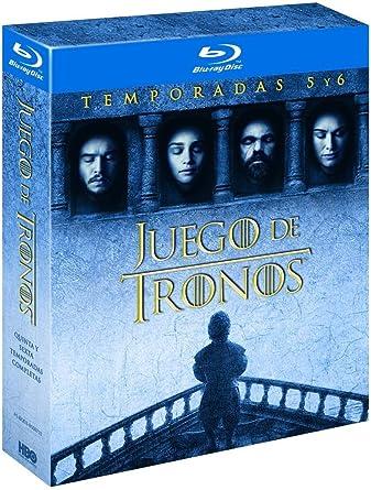 Pack Juego De Tronos Temporada 5-6 Blu Ray [Blu-ray]: Amazon.es ...