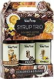 Jordan's Skinny Mixes | Classic Coffee Syrup Trio | Sugar Free 3 Pack | Salted Caramel, Vanilla, Mocha | (3) 12.7 oz Bottles