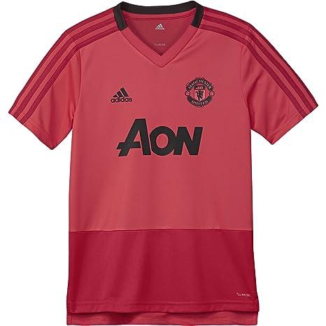 buy popular 0d8bb 0d3d8 Amazon.com : adidas 2018-2019 Man Utd Training Football ...
