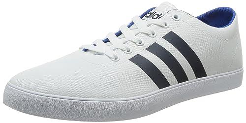 adidas Zapatillas de Tela Para Hombre Blanco Blanco: adidas NEO: Amazon.es: Zapatos y complementos