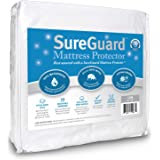 SureGuard Mattress Protectors Crib Size - 100% Waterproof, Hypoallergenic - Premium Fitted Cotton Terry Cover - 10 Year Warranty