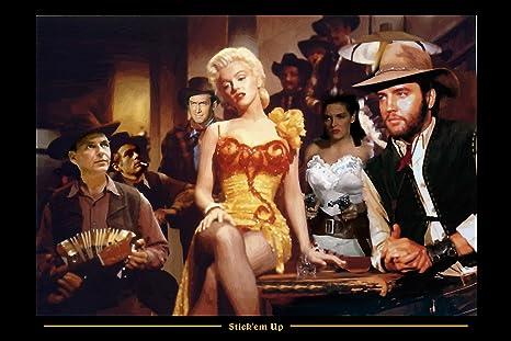 Amazoncom Xl Art Poster 12 X 18 Collage Marilyn Monroe Elvis