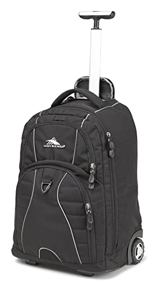 Amazon.com : High Sierra Freewheel Wheeled Book Bag Backpack ...