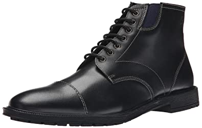 Stacy Adams Men's Dowling Chukka Boot, Black Smooth, ...