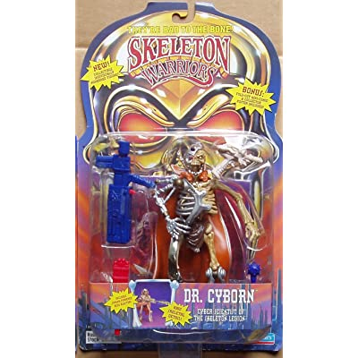 Skeleton Warriors Dr. Cyborn Action Figure: Toys & Games