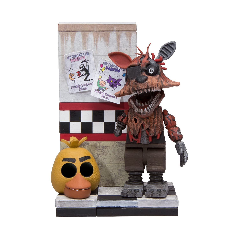 McFarlane Toys Five Nights At Freddy's Micro Cam 08 Hallway Construction Set Neca 12664-8