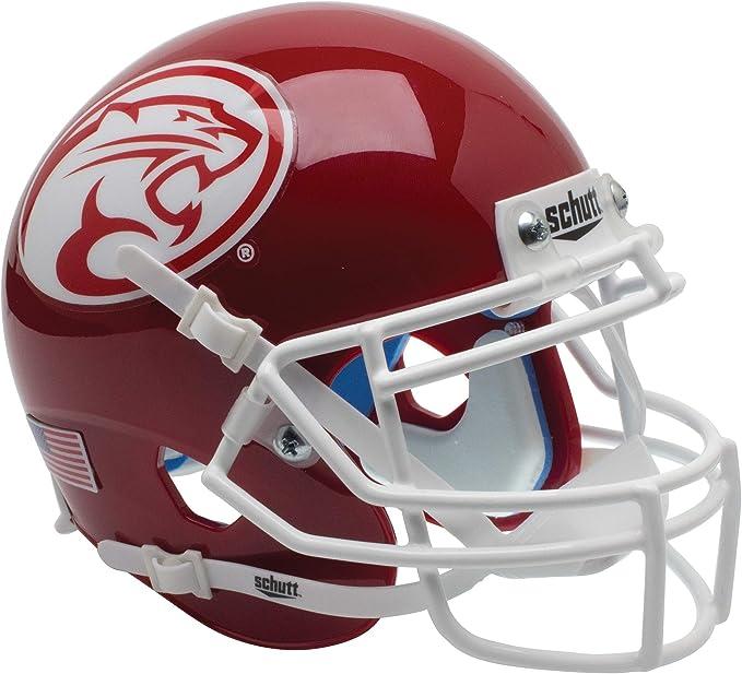 HOUSTON COUGARS NCAA Schutt Mini Football Helmet DESK CADDY