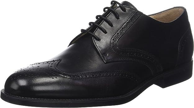 TALLA 43 EU. Stonefly Berry II 1 Calf, Zapatos de Cordones Brogue para Hombre