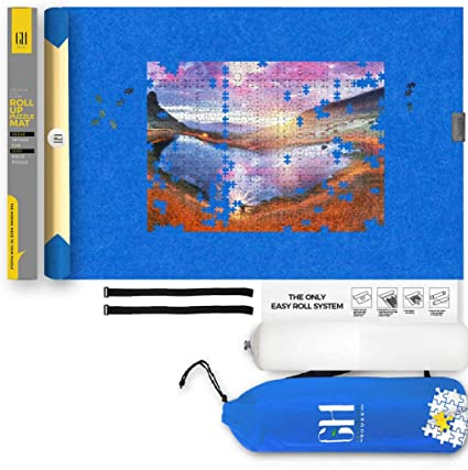 Includes Storage Bag Seamless Fit Premium Blue Board Pieces Special Edition Barn Quilts Jigsaw Puzzle and Card. Grateful House Puzzles for Adults 1000 Piece Full-Size Image Poster
