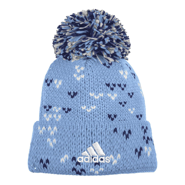 Blue One Size adidas MLS New York City FC Womens Fan Wear Cuffed Pom Knit Beanie