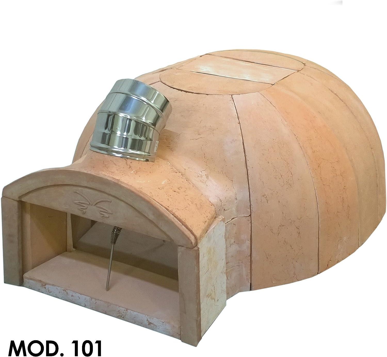 FIESOLI aRTE Classic 101C - Horno de terracota refractaria para madera
