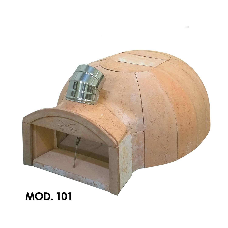 FIESOLI aRTE Classic 101C - Horno de terracota refractaria para ...