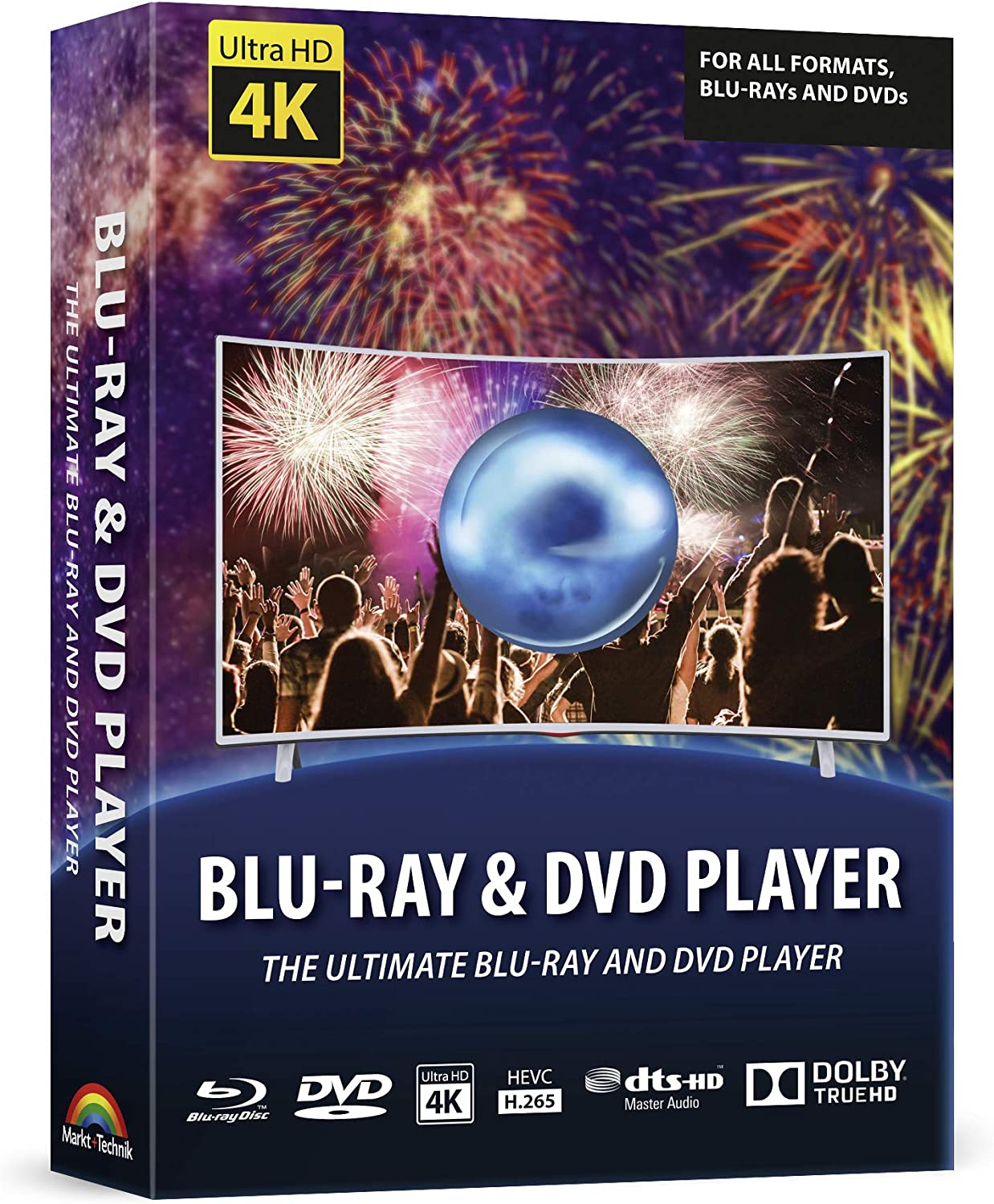 Blu-ray and DVD Player Software - The Media Center for your Films on Blu-ray, DVD and other Audio and Video Formats - Windows 10 - 8.1 - 7