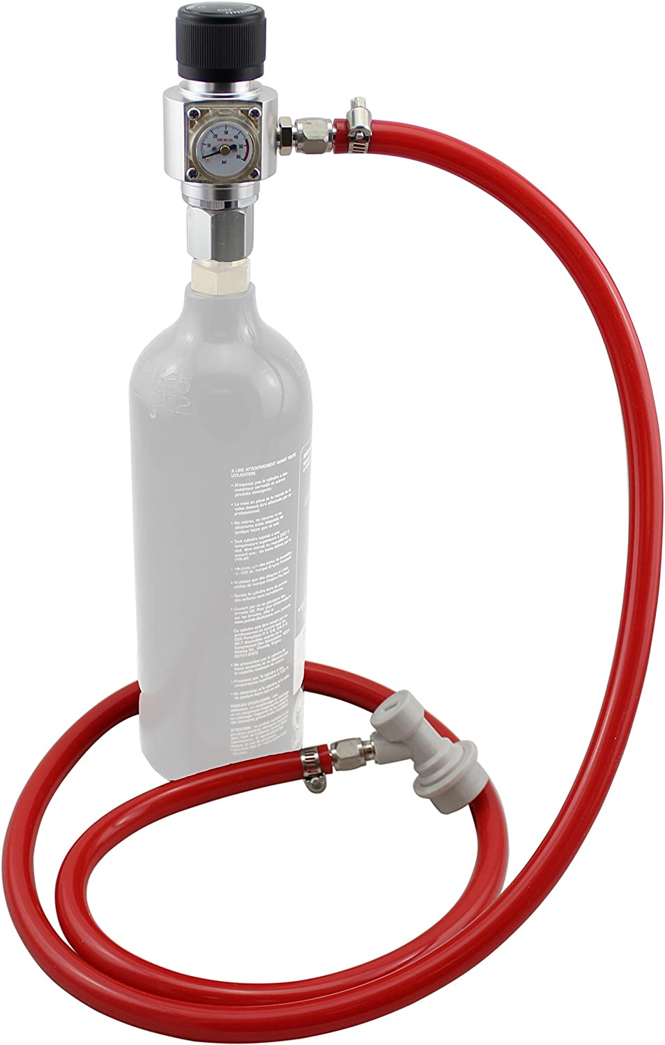 CO2 Injection System for Paintball Tanks by The Weekend Brewer