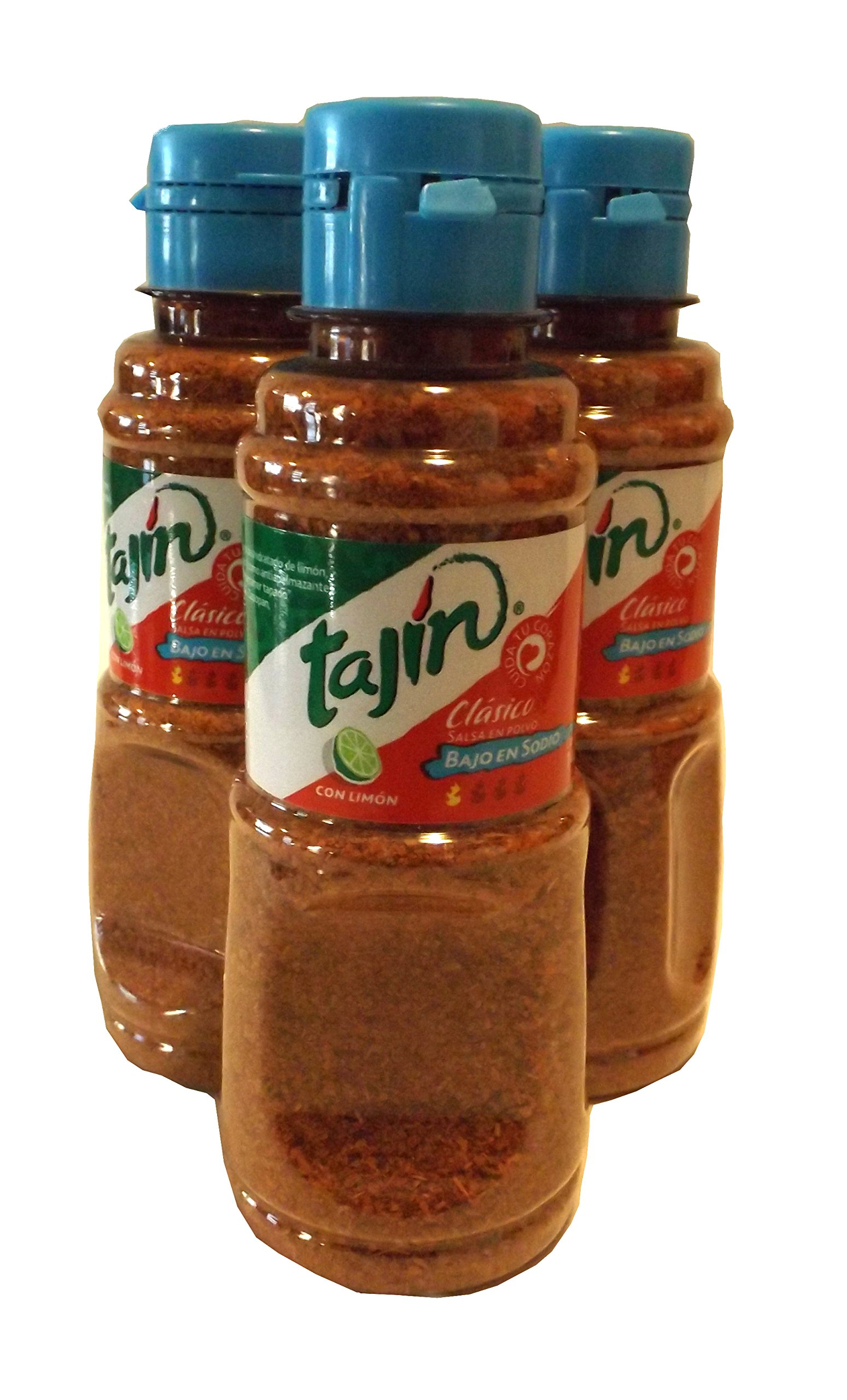 Tajin Classico Bajo En Sodio Con Limon 5 Oz. Seasoning (Pack of 3)