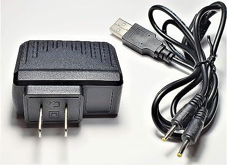Amazon.com: Cargador de pared con cable de carga USB dual ...