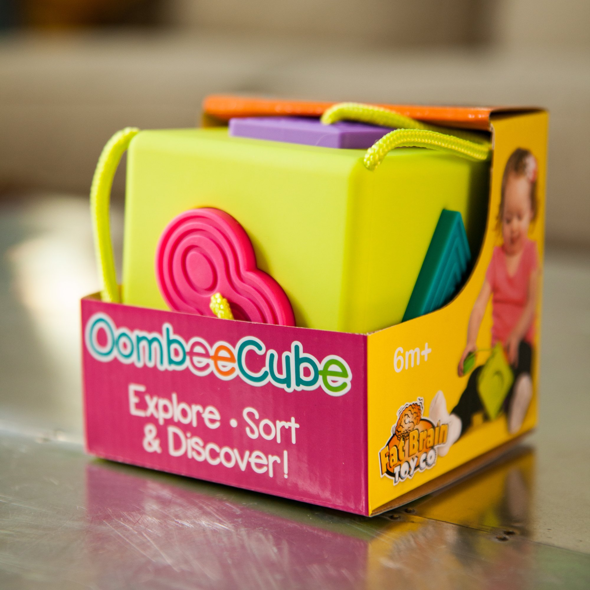 Oombee Cube Sorter by Fat Brain (Image #6)